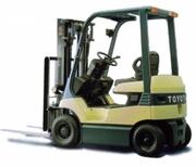 Электрический погрузчик Toyota 7FB15,  Грузоподъемность 1500 кг