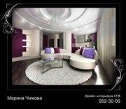 Дизайн интерьера квартир,  любых жилых и общественных помещений.