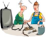 Ремонт телевизоров,  ЖК панелей Петергофе,  Ломоносове,  Стрельне.