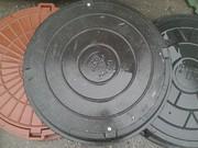 Люк для колодца канализационный полимер-песчаный