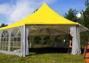 срочно продаются новые тентовые шатры под кафе