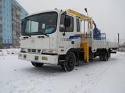 Hyundai HD120 - грузовик с манипулятором, 2012года