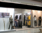 Торговое оборудование для магазина одежды (на площадь ок. 135 кв.м.)
