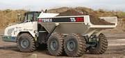 Продажа,  аренда  сочлененных самосвалов Terex TA30.