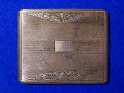 Продаётся серебряный портсигар, Польша.Начало 20 века.