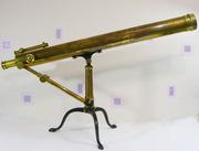 Продаётся редкий антикварный телескоп,  уровень музейного экспоната