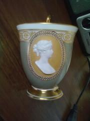 Продаю наградную фарфоровую чашку КРМ, второе десятилетие 19 века.