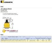 Резец дорожный Kennametal RZ24 (RZ3-01P) - Kennametal 3098678