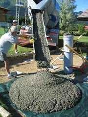 Продажа бетона,  песка и щебня
