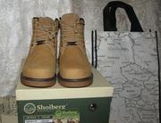 Продам мужские зимние кожаные ботинки