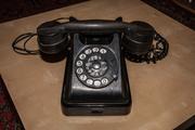 Советский бакелитовый телефон ВЭФ БАГТА-50,  1961г.
