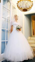 Продам свадебное платье для настоящей принцессы