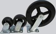 Различные виды колес и роликов для тележек.