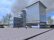 Проект производственного здания с учебными помещениями в С.-Петербурге