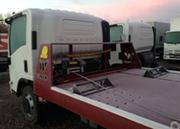 Автомобиль-эвакуатор с платформой подъёмно-сдвижного типа марки Werker