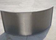нержавеющое дуговое сито радиусом 1016мм для угольной площади