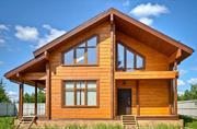 Проектирование и строительство деревянных домов из Клееного бруса