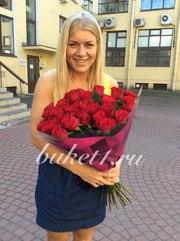 Большие букеты из роз с бесплатной доставкой по Санкт-Петербургу!