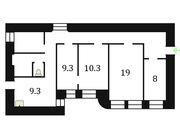 Продам большую 4-к. квартиру под чистовую отделку в центре СПб