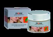 Ночной натуральный крем для сухой кожи лица Moraz Herbal Night Cream