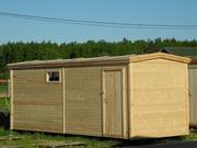 Бытовка Бюджетная деревянная 2.3 × 5.8м.
