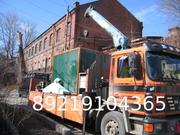 Перевозки доставка груза Манипулятором грузовик с краном Спб