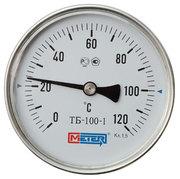 Термометр биметаллический общетехнический МЕТЕР ТБ-1 63мм шток 40мм