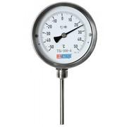 Термометр биметаллический (нерж.) МЕТЕР ТБ-3 80мм шток 80мм