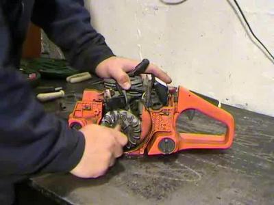 Бензопила хускварна 142 ремонт своими руками