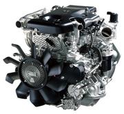 Двигатель (б/у) ISUZU NQR75 4HK1-T в сборе с навесным оборудованием.