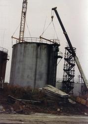 Демонтаж нефтяных и топливных резервуаров