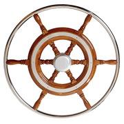 Штурвал  для  корабля (катера,  лодки,  яхты).