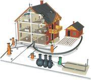 Комплексный монтаж и проектирование систем отопления,  водоснабжения и