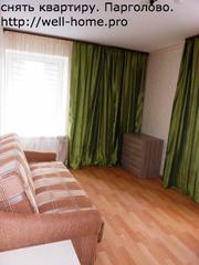 3-х комнатная в Парголово,  долгосрочная аренда,  для семьи.