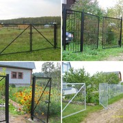 Металлические ворота доставим бесплатно