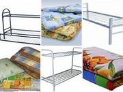Металлические кровати одноярусные и двух ярусные с нашей доставкой