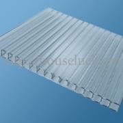Сотовый поликарбонат,  3.7мм (2100x6000),  прозрачный