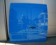 Фольксваген лт - задние двери,  боковая раздвижная дверь