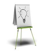 Аренда флипчарта,  Доска-флипчарт для проведения совещаний и презентаций.
