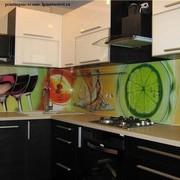 Кухонные фартуки из стекла,  керамической плитки. Панно. Перегородки.