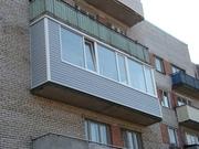 Профессиональная обшивка балконов и лоджий