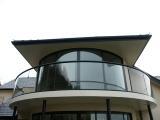 Стеклянные конструкции на заказ - Юникон Гласс