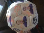 Мяч с автографами Зенита