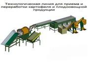 оборудование для переработки и предпродажной подготовки овощей