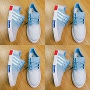 Кеды муж. Adidas джинс.синие 41-46р-р.