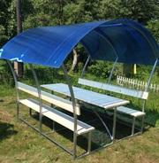 Садовые беседки и скамейки от производителя