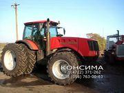 Сдвоенные и дополнительные колеса для тракторов