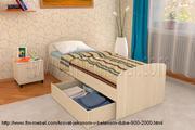 Односпальная кровать Эконом со спальным местом 800*2000