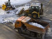 Комплексная уборка снега вывоз (заключение договора)