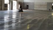 Бетонные промышленные полы,  заливка- затирка бетонных полов
